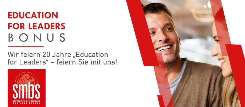 Education for leaders Bonus_feiern