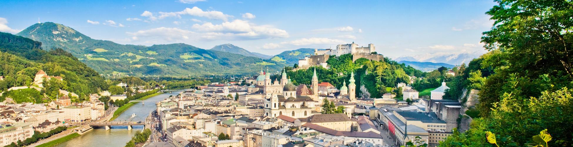Panorama der Stadt salzburg_impressum