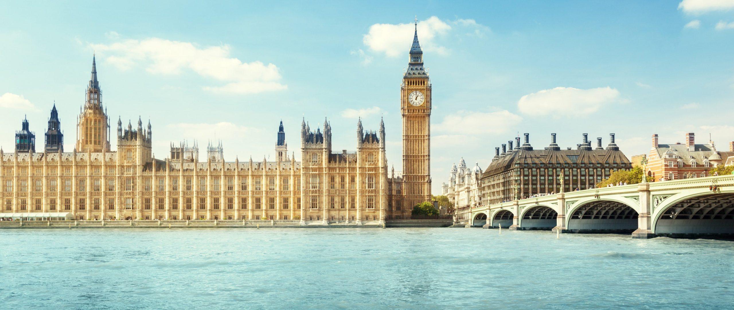 London Skyline Big Ben Auslandsmodul MIM Westminter University virtuell